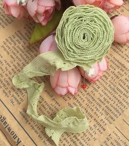Soft fungus lace openwork decorative lace
