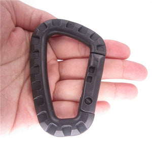 Carabiner Climb Clasp Clip Hook attach Hike Outdoor Bushcraft Mountain Webbing Web Hang Hanger Quickdraw Camp Buckle Snap molle