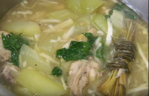 Chicken Binakol - A Fine Soup From The Philippines
