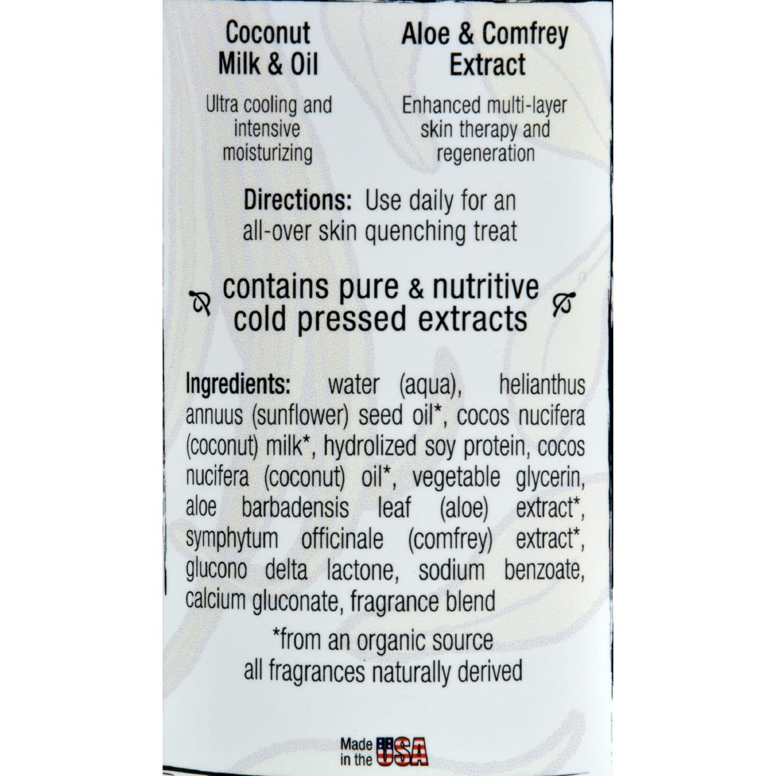 Pure Life Body Lotion Coconut And Vanilla - 14.9 Fl Oz