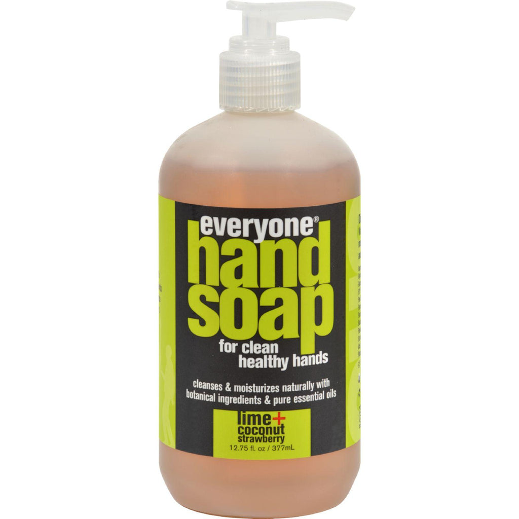 Eo Products Everyone Hand Soap - Lime And Coconut With Strawberry - 12.75 Oz