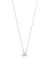 Palaso Single Necklace - White Gold