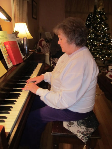 Learning a new skills for someone with dementia- playing piano