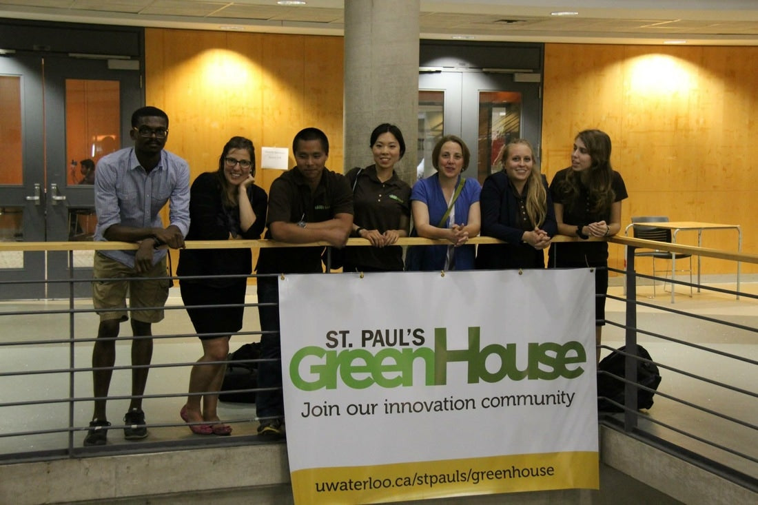 St. Paul's GreenHouse mentors