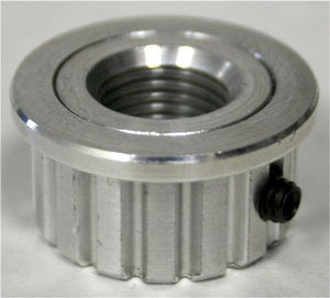 Aluminum Pulley - 16 XL Threaded