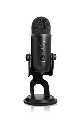 Blue Yeti USB Microphone - Blackout Edition - Shop The Fox