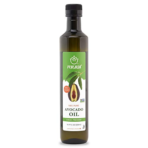 Prasada 100% Pure Avocado Oil 16.9oz (500ml)
