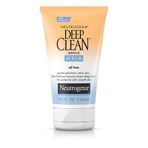 Neutrogena Daily Facial Scrub, Oil-Free Cleanser 4.2 fl. Oz