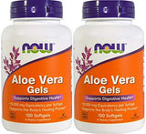 Now Foods Aloe Vera, 100 softgels 2 pack - Shop The Fox