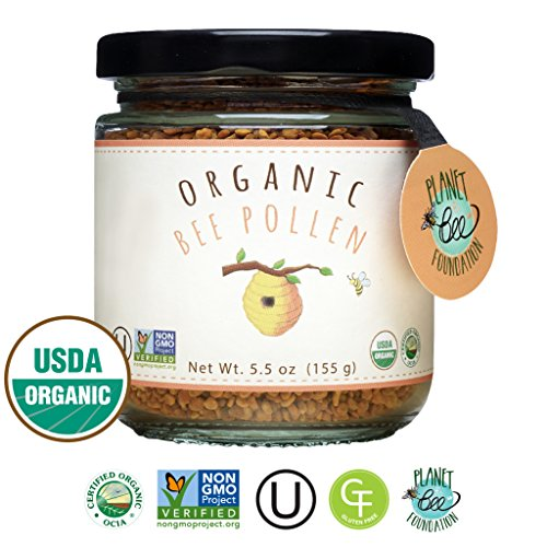 GREENBOW Organic Bee Pollen - 100% USDA Certified Organic - Shop The Fox