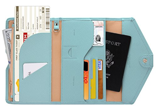 Zoppen Multi-purpose Rfid Blocking Travel Passport Wallet - Shop The Fox
