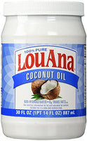 LouAna Pure Coconut Oil (All Natural) 30 fl oz - Shop The Fox
