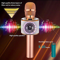 BONAOK Wireless Bluetooth Karaoke Microphone - Shop The Fox
