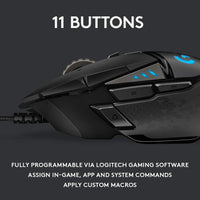 Logitech G502 HERO High Performance Gaming Mouse - Shop The Fox