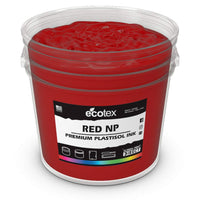 Ecotex Red NP Plastisol Ink For Screen Printing