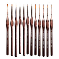 Miniature Paint Brushes Detail Set