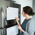 Magnetic Dry Erase Calendar - Shop The Fox
