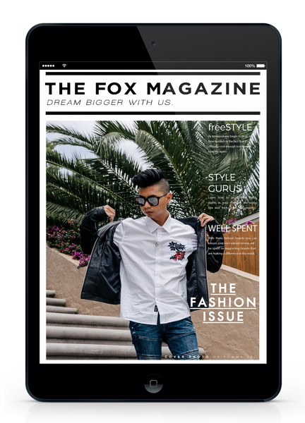 The Fashion Issue - Shop The Fox