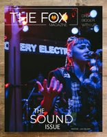 The Sound Issue - Print - Shop The Fox