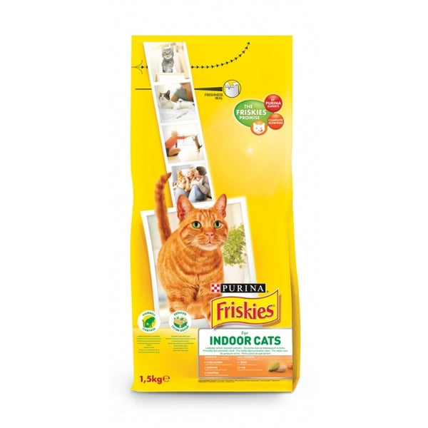 Friskies Cat Indoor - 1,5kg