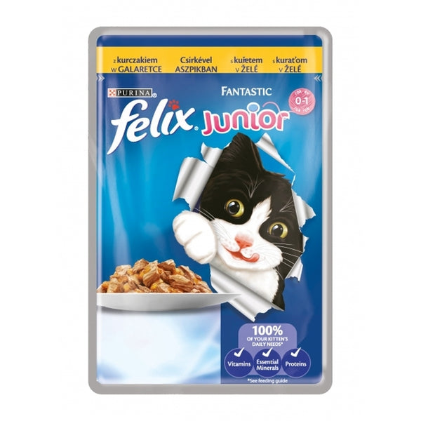Felix Fantastic Junior Chicken - Pouch 100g