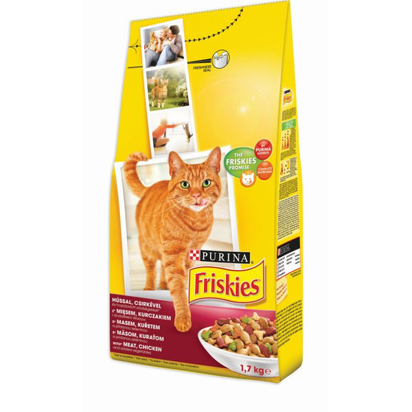 Friskies Adult Meat & Chicken & Vegetables - 1,7kg