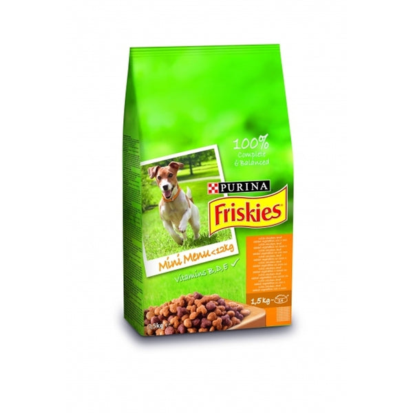 Friskies Dry Dog Chicken and Vegetable 1,5kg