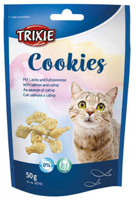 Trixie Cookies With Salmon and Catnip 50g