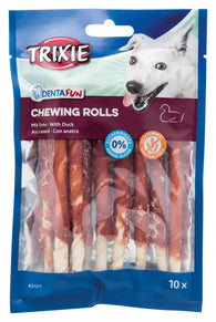 Trixie Duck Chewing Rolls 6cm, 120g