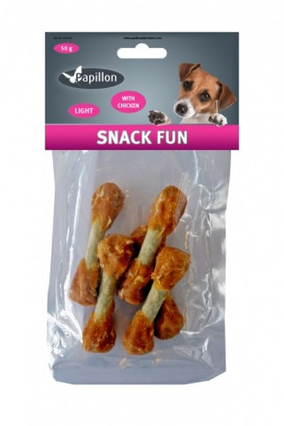 Papillon Dumbbell with Chicken 50g