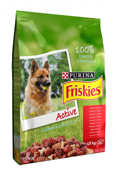 Friskies Active Dry Dog - 15kg