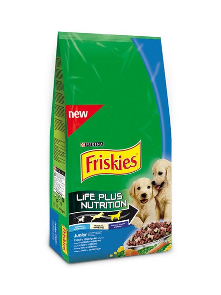 Friskies Junior Dry Dog - 15kg