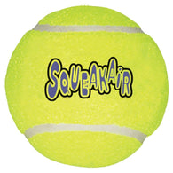 KONG Air Dog Squeakair Tennis Ball Dog Toy Large
