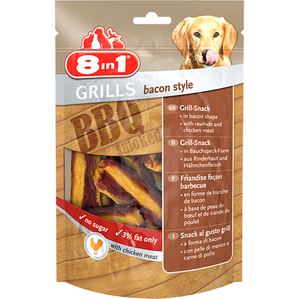 8in1 Grills Bacon Style - 80g