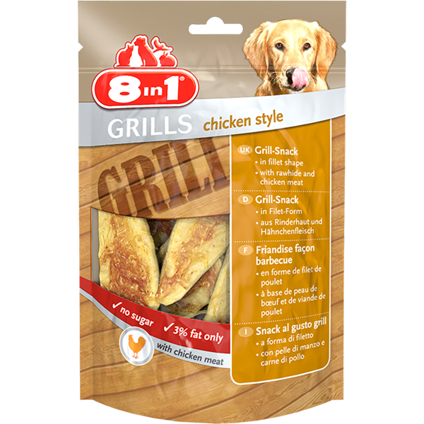 8in1 Grills Chicken Style - 80gr