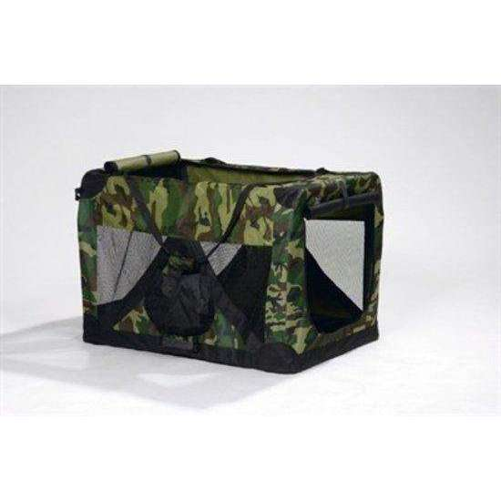 Beeztees Carrier  - Bench - Nylon - Camouflage - 49x34x35 cm