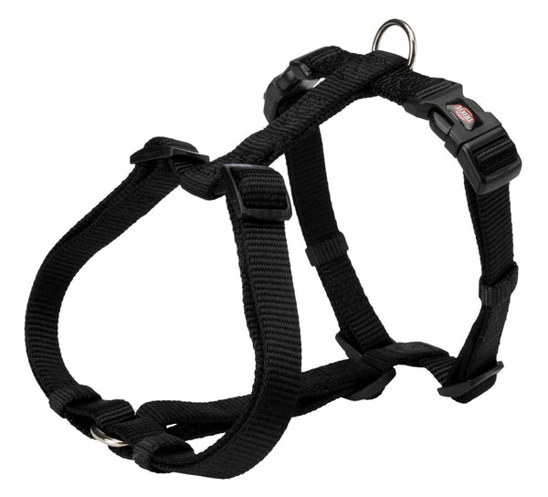 Trixie Premium H-Harness M-L 50–75 cm/20mm, Black