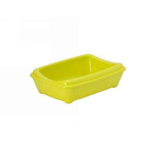 Moderna Arist-O-Tray Cat toilet + Rim 'Yellow' 42 cm