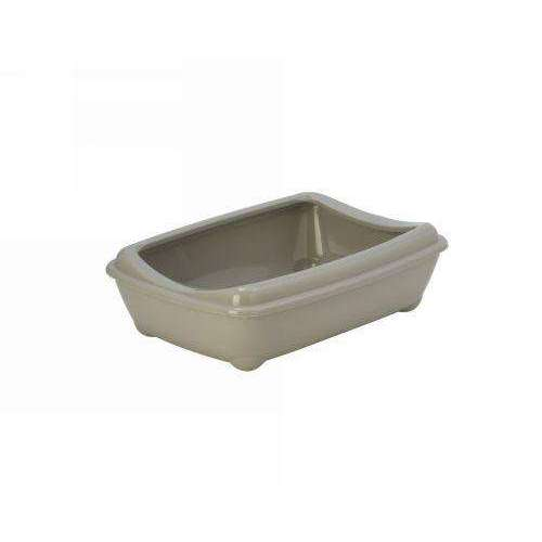 Moderna Arist-O-Tray Cat toilet + Rim 'Sand' 42 cm