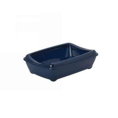 Moderna Arist-O-Tray Cat toilet + Rim 'Royal Blue' 42 cm