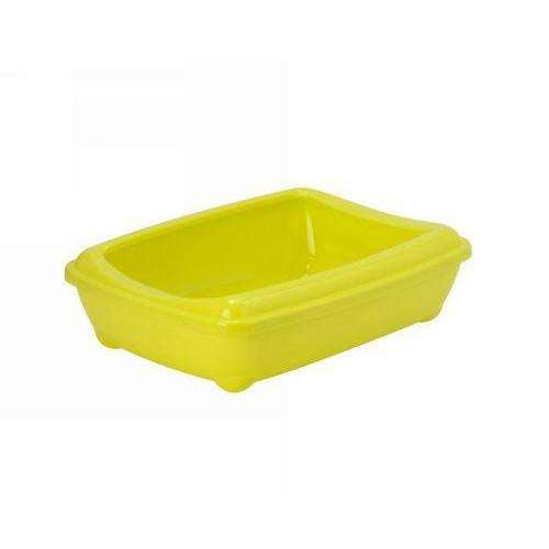 Moderna Arist-O-Tray Cat toilet + Rim 'Yellow' 50 cm