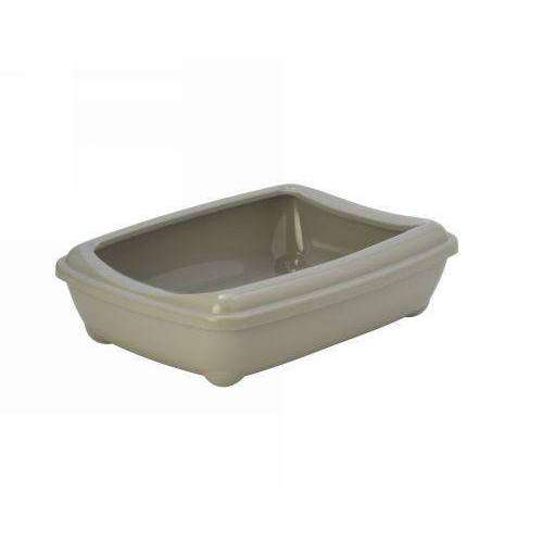 Moderna Arist-O-Tray Cat toilet + Rim 'Sand' 50 cm