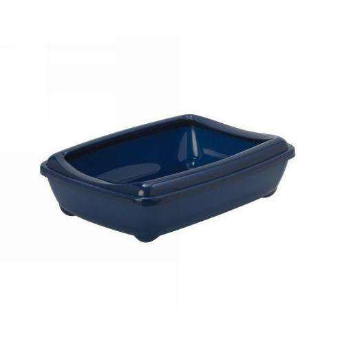 Moderna Arist-O-Tray Cat toilet + Rim 'Royal Blue' 50 cm