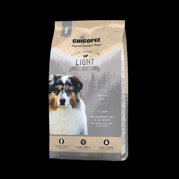 Chicopee Classic Nature Line Light Lamb & Rice 2kg