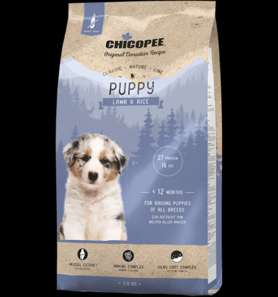 Chicopee Classic Nature Line Puppy Lamb & Rice 15kg
