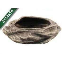 Aquarium decoration ceramic cz023 rodent bowl