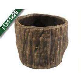 Aquarium Decor Ceramic Bole Planter (Large)