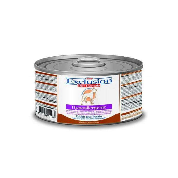 Exclusion Diet Hypo - Adult Dog /Rabbit And Potato 200gr