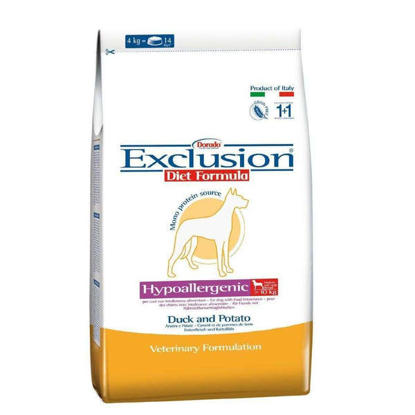 Exclusion Diet Hypo - Adult Dog /Medium- Large Breed Duck And Potato 3kg