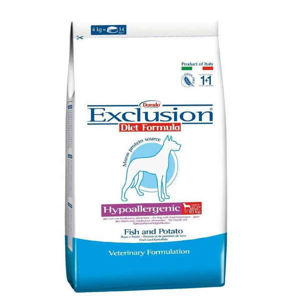 Exclusion Diet Hypo - Fish and Potatoes Adult Medium/Large Breed 12,5kg